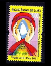 Sri Lanka MNH, World Aids Day, Disease, Medicine, Map