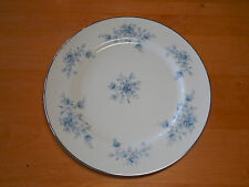 Crown Empire Japan Fine China DUCHESS Set of 6 Dinner Plates Blue Floral