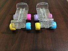 R*Build A Bear Rainbow Sparkle Glitter Roller Skates