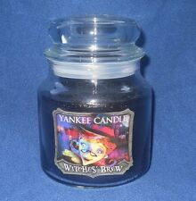 Yankee Candle Halloween Witches Brew Hologram Label Jar Candle Rare 12.5 HTF