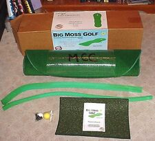 NEW Big Moss Golf THE ORIGINAL 3' X 9' Practice Putting Chipping Green w/ 1 Cup
