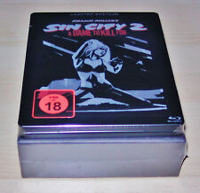 SIN CITY 2 A DAME TO KILL FOR 3D LIMITED STEELBOOK MIT FLACHMANN SET BLU RAY NEU