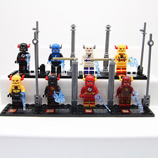 (The Flash) 8PCs Set  Avengers Super Heroes Custom Figure Fit with Lego Toys