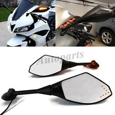 Side Black Rear View Mirrors For HONDA CBR600RR 2003-2011 CBR 1000 RR 2004-2007