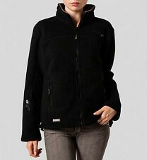 GEOGRAPHICAL NORWAY jacket giaccone giacca pile donna nero sz 2 42/44 S/M BNWT