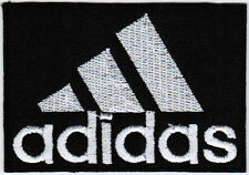 Adidas #TBW BLACK Emblem Logo Badge Iron On Embroidered Patch