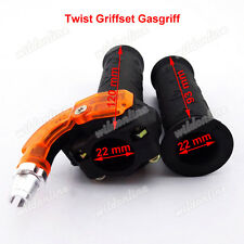 Twist Griffset Gasgriff  für 43cc 47cc 49cc  Mini Dirt Pocket Bike Scooter ATV