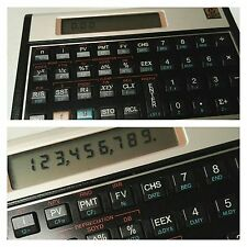 CALCULATRICE FINANCIERE PROGRAMMABLE HEWLETT PACKARD HP-12C (EN TRES BON ETAT)