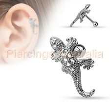 16G 6mm Star Flag Cartilage Tragus Bar Ear Ring Piercing Stud Body Jewellery