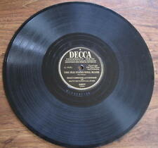 "Hoagy Carmichael & Cass Daley - 78 rpm- ""The Old Piano Roll Blues"" - Decca 24977"