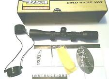 BSA 550 Essential Air Rifle Scope - 4x32 WR Mil-dot & includes Mounts