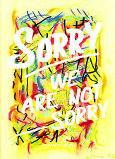 """Rare """"SORRY WE ARE NOT SORRY"""" Paperback Book by WILLIAM EGGLESTON, 2009 @NEW@"""