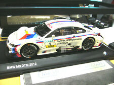 BMW M3 E92 Coupe DTM 2012 Tomczyk Team Reinhold RMG #1 SP Minichamps 1:18 NEW