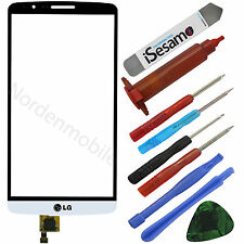 LG Optimus G3 D855 Touchscreen Glas Display Digitizer Weiss + UV LOCA KLEBER