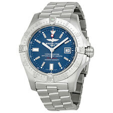 Breitling Avenger Seawolf Blue Dial Stainless Steel Automatic Mens Watch