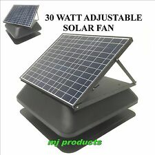solar roof vent / 30 watt solar panel  / solar extractor / roof ventilator