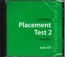 OXFORD PLACEMENT TEST 2: Class Audio CD / DAVE ALLAN @BRAND NEW, SEALED@