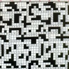 """Crossword Snow Day - White - 42"""" FLANNEL Fabric by the yard (36"""")"""