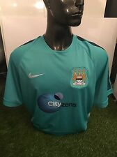 Manchester City Training Top Staff Issued UK size XL