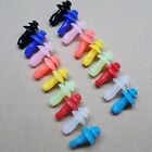 POP 5 Pairs Silicone Ear Plugs Anti Noise Snore Night Earplugs For Study Sleep