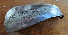 1930s Metal Shoe Horn Advertising Home Trade Shoe Store Minneapolis MN Used