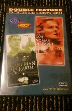 Double Feature DVD:  The Last Man On Earth and The Last Woman On Earth