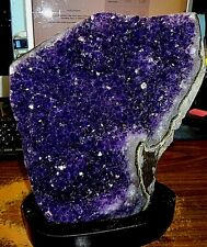 HUGE  AMETHYST CRYSTAL CLUSTER  CATHEDRAL GEODE FROM URUGUAY