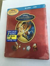 Disney Beauty and the Beast, Blu-Ray, (Future Shop Canada) SteelBook, Brand New