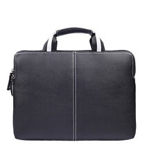 Notebook Laptop PU Leather Zipper Sleeve Case Carry Bag Briefcase Pouch