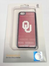 Coveroo Oklahoma Sooners Red Black NCAA Case Cover & LCD Protector For iPhone 5C