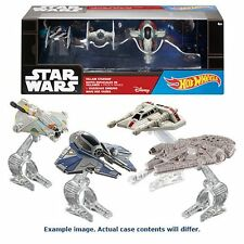 STAR Wars Hot Wheels Starship pressofuso veicolo 4-Pack Case