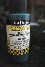 CANDY RACING GREEN PAINT VAL62077 Premium Color 60ml brush or airbrush Vallejo