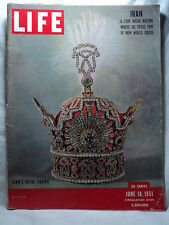 Life June 18 1951 IRAN CROWN Disney Alice in Wonderland