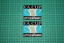 FA CUP FINAL LITTLEWOODS BADGES 1996-1998