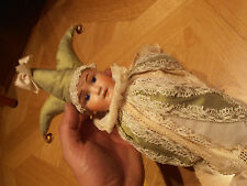 Antique Marotte Music Box Dolls with sound doll with glass eyes 1900 Germany