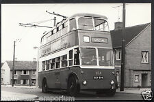 Postcard Size Transport Real Photograph - Yorkshire? Bus No 804 - BH6467