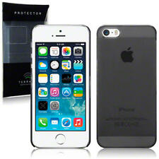 Thin Clear Black Ultra Slim Hard Case Back Cover for New Apple iPhone 5/5S/SE