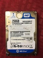 "Western Digital Scorpio Blue WD2500BPVT 250GB 5400 RPM 8MB 2.5"" Hard Drive"