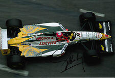 Pedro Lamy Team Lotus F1 Hand Signed 12x8 Photo 8.