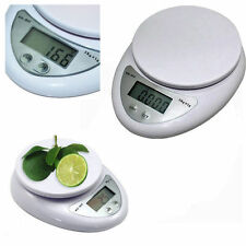 5KG Digital Weighing LCD Electronic Kitchen Household Scale Food Cooking OT