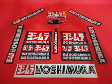 Yoshimura Decal Sticker Power Bundle with 2 Key chains + 2 bonus K&N decals USA!
