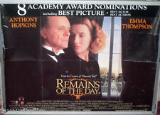 Cinema Poster: REMAINS OF THE DAY 1993 (Quad) Christopher Reeve Anthony Hopkins