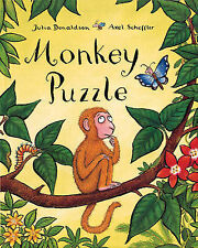 NEW  - MONKEY PUZZLE board book by Julia Donaldson
