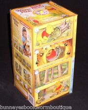 WINNIE THE POOH Story Blocks BOOKS Interactive NEW Disney PUZZLES Mix MATCH Fun