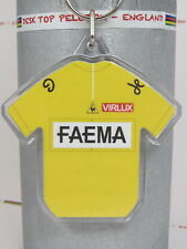 Eddy Merckx 1969 Faema Yellow Tour De France Cotton Cycling Jersey Keyring Rapha