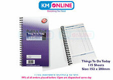 Pukka Pad Things To Do Today Book To Do List Wirebound 152 x280mm - THI11/1/115
