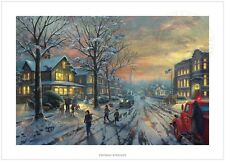 Thomas Kinkade A CHRISTMAS STORY – 12x18 S/N Limited Edition Paper