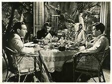 """LE VOILIER MAUDIT (EBB TIDE)"" Photo orig. O. HOMOLKA, Ray MILLAND, Lloyd NOLAN"