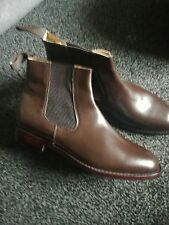 real handmade leather mens chelsea boots