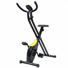 Small Folding indoor Stationary Exercise Bike Machine Bicycle Fitness Trainer